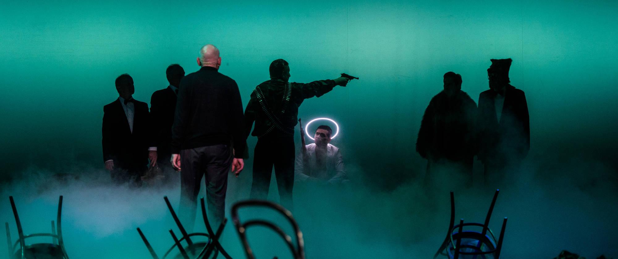 17.01.19, Heilbronn: Hauptprobe 2 zum Schauspiel »Steppenwolf« nach Hermann Hesse. Foto: Candy Welz