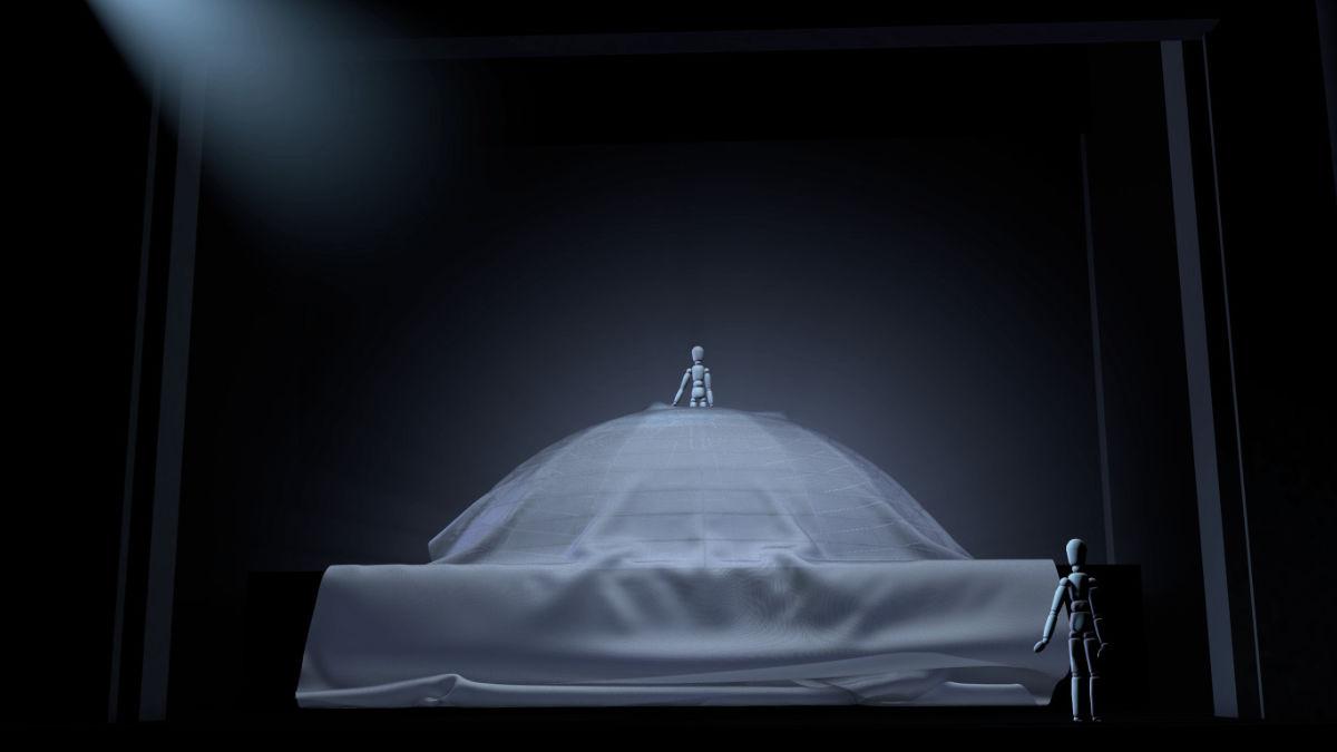 Isabel Baumert als Rose; FRÜCHTE DES ZORNS Schauspiel Kiel 2019 Regie Malte Kreutzfeldt photo Olaf Struck